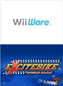 Excitebike World Rally Wii Ware Jaquette