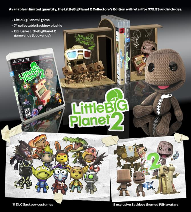 Little Big Planet 2 Edition Collector