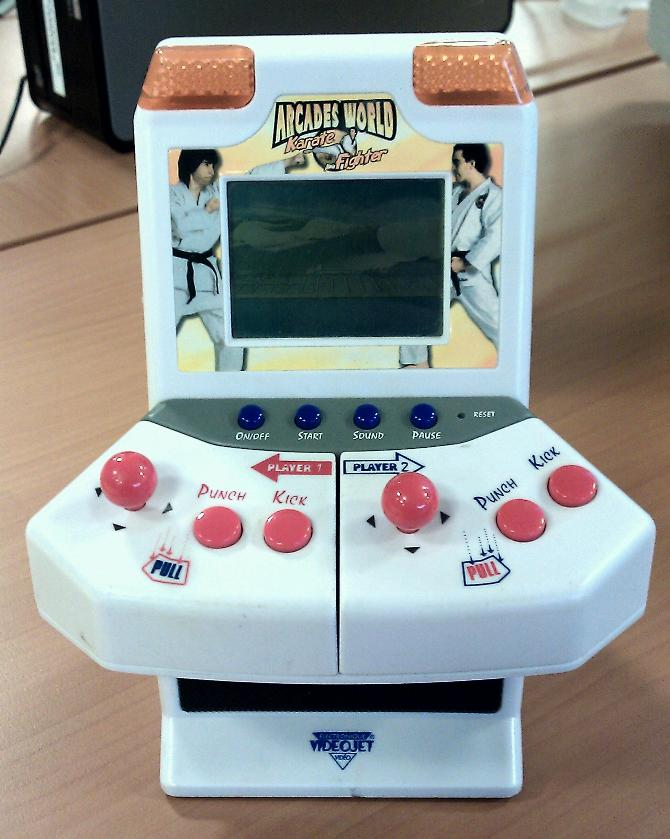 VideoJet Arcades World Karate Fighter