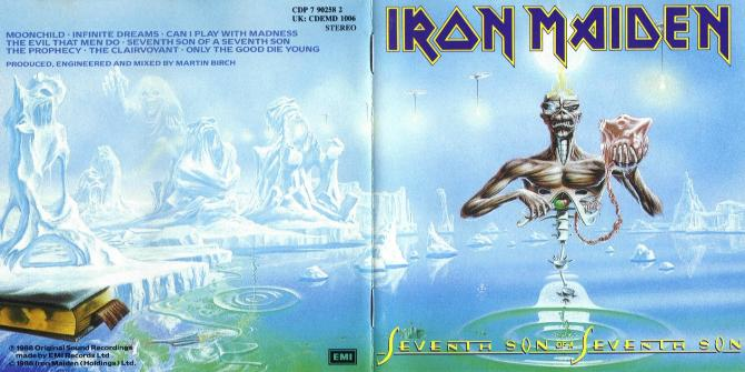 6 Iron Maiden - Seventh Son of a Seventh Son