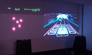 Arcade au Lux - Geometry Wars et Audio Surf