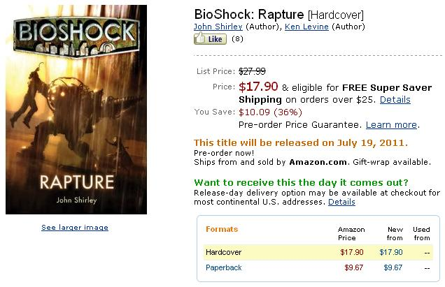 Bioshock - Rapture on Amazon