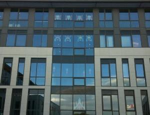 Post-It War - Namco Bandai à Lyon