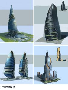 5 Concepts for high-tech buildings