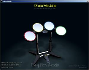 Drum Machine - Free play