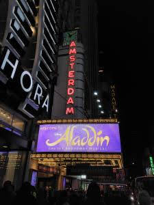 New York Musical Aladdin