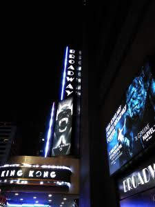 New York Musical King Kong