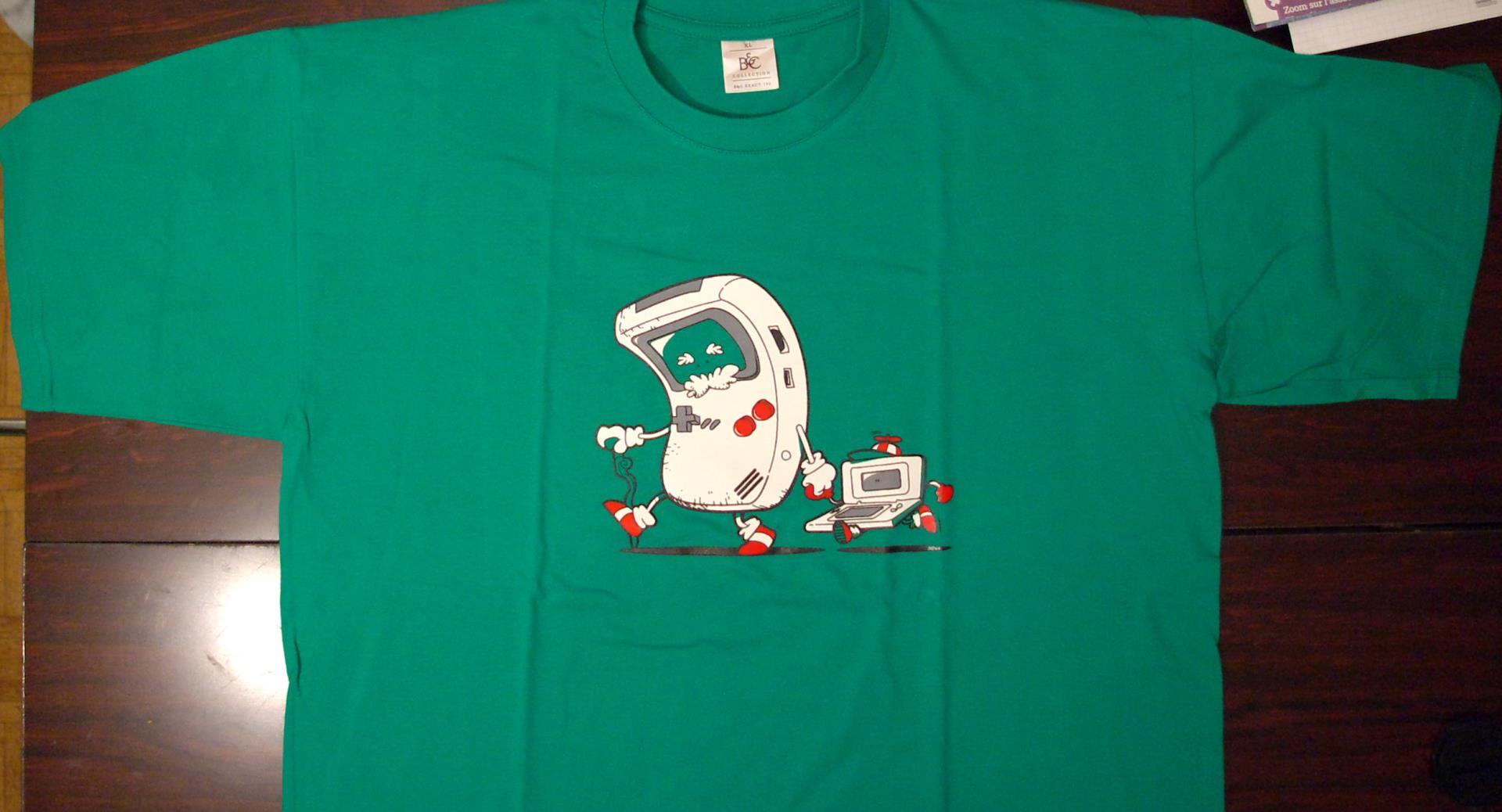 T-shirt geek T-Shirt%20Papy%20Baby