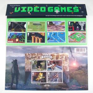 Royal Mail Stamps - Video Games Presentation Pack (8394)
