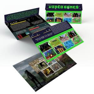 Royal Mail Stamps - Video Games Presentation Pack (Offical 01)