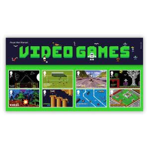 Royal Mail Stamps - Video Games Presentation Pack (Offical 02)