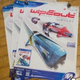 Posters Micromania WipEout Omega Collection (x3) (FRA OCCAZ PLV Jeux Vidéo)