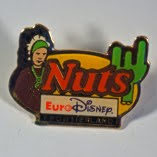 Pin's Euro Disney - Frontierland Nuts (FRA OCCAZ Pin's Autres)
