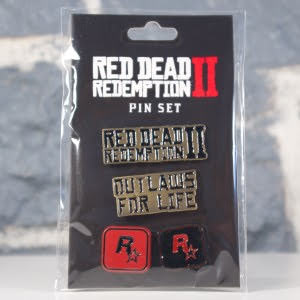 Ensemble de pin's Red Dead Redemption II (01)