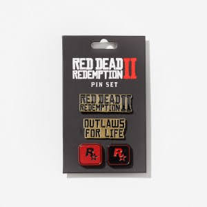 Ensemble de pin's Red Dead Redemption II (warehouse 02)