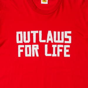 T-shirt Outlaws For Life (warehouse 02)