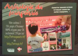 L'Anthologie du Franponais - Flyer (2)
