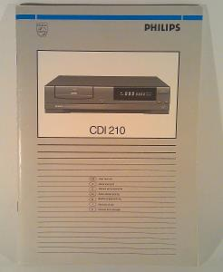 Compact Disc Interactive Player CDI 210 (09)