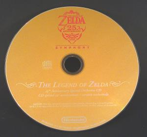 Zelda 25th Anniversary Special Orchestra CD (04)