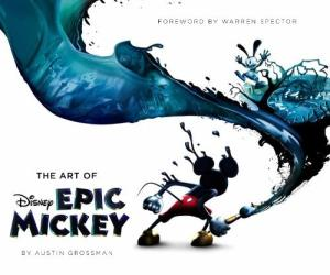 The Art Of Epic Mickey (couverture)
