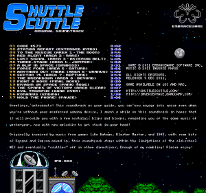 Inverse Phase - Shuttle Scuttle OST - ss-backcover