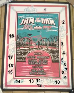 Jam In The Dam Official Poster (1b)