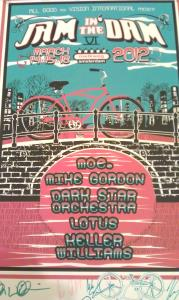 Jam In The Dam Official Poster (8)