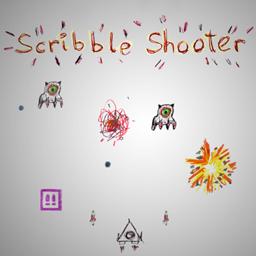 PlayStation Home Arcade 05 ScribbleShooter