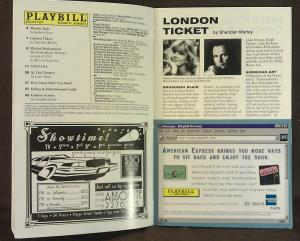 Playbill Imperial Theatre, New York, July 1997 (03)