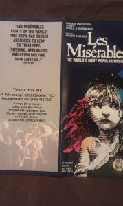 Playbill Imperial Theatre, New York, July 1997 (14)