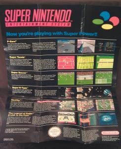 Super Nintendo Poster Branchement-Now Your Playing HW(B)-SNSP-FRA-1 (3)
