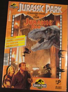 Jurassic Park - Le magazine officiel du film (01)