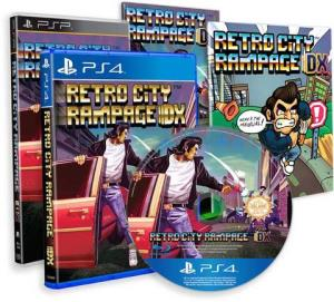 Retro City Rampage- DX Limited PS4 Retail (Official 01)
