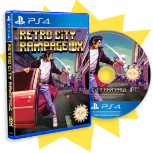 Retro City Rampage- DX Limited PS4 Retail (Official 02)