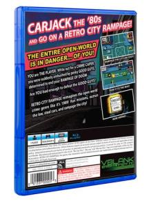 Retro City Rampage- DX Limited PS4 Retail (Official 04)
