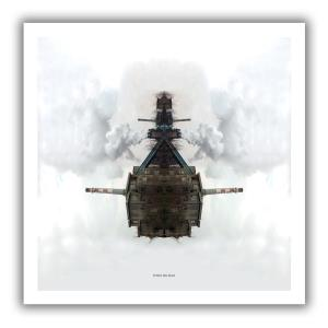 Big Boat Oversized 36''x36'' album cover print (Cover print)