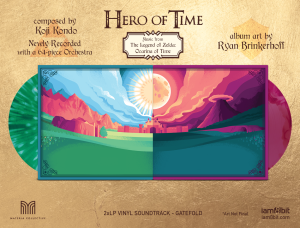 Hero of Time 2xLP (Music from The Legend of Zelda- Ocarina of Time) (cover 3)