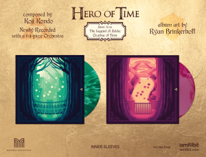 Hero of Time 2xLP (Music from The Legend of Zelda- Ocarina of Time) (cover 4)