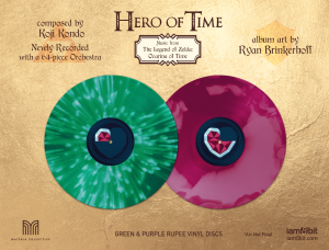 Hero of Time 2xLP (Music from The Legend of Zelda- Ocarina of Time) (cover 5)