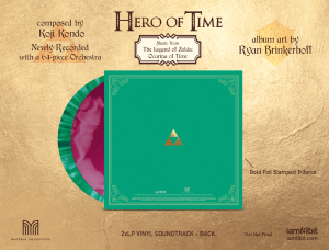 Hero of Time 2xLP (Music from The Legend of Zelda- Ocarina of Time) (cover 6)
