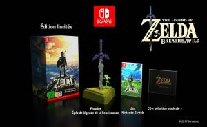 The Legend of Zelda - Breath of the Wild - Edition Limitée (annonce) (02)