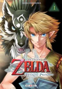 Manga The Legend of Zelda - Twilight Princess (Tome 1) (cover)