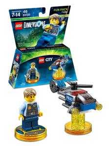 Lego Dimensions - Fun Pack - Lego City Undercover (packshot)
