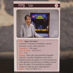 Trading Card 35 Space Invaders - Tomohiro Nishikado (01)
