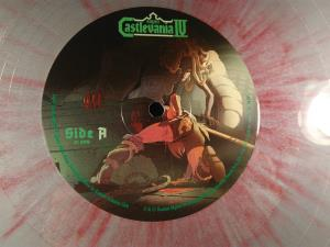 Super Castlevania IV - Original Video Game Soundtrack (Gram Silver with Red Splatter) (19)