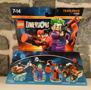 Lego Dimensions - Team Pack - Joker  Harley Quinn (01)