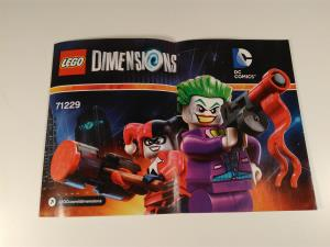 Lego Dimensions - Team Pack - Joker  Harley Quinn (04)