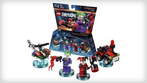 Lego Dimensions - Team Pack - Joker and Harley Quinn (détail)