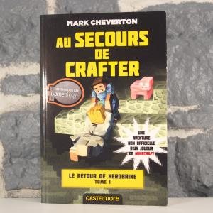 Minecraft - Le Retour de Herobrine, T1 - Au secours de Crafter (Mark Cheverton) (01)