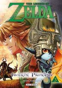 Manga The Legend of Zelda - Twilight Princess (Tome 3) (cover)